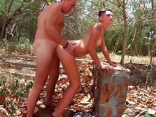 Public Blowjob And Fuck On The Nudist Tropical Beach Video From Foxandfoxy