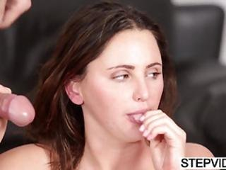 Stepsis Hope Howell Gets Fucked By Two Cocks