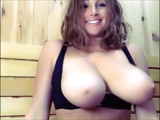Big Titties Shaking Out Of Bra