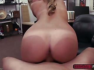 A Sexy Waitress Fucks For Money To Solve Her Financial Problem