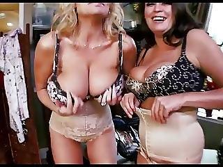 Free busty threesome videos
