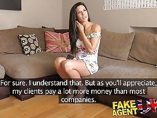 Fakeagentuk Office Sex For Sporty Spanish Babe