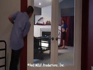 Housewife Cheating Her Husband With A Worker