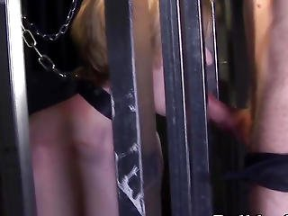 Restrained Sub Twink Barebacked And Jizzed