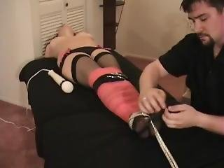 Girl Bound And Tickled