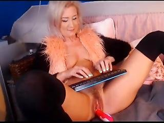 Mature Blonde Hot Anal Sex Squirting Orgasm