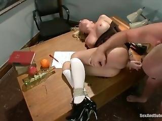Madison Scott Schoolgirl Bondage