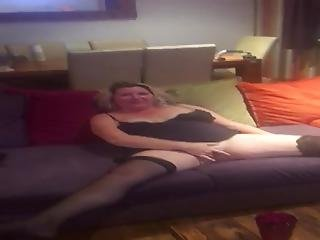 Dirty Wife Natalie Is Ready For Someone To Join Us Tonight