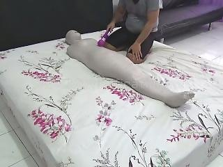 This New Model Is Wrapped Into A Mummy For The First Time