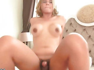 Breasty Tranny Lorla Riding Large Rod