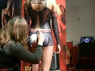 Festival Erotico - Celje 2011 - Body Painting