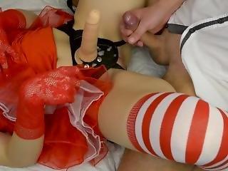 amatör, avsugning, fetish, knullar, milf, strapon, leksaker, julafton