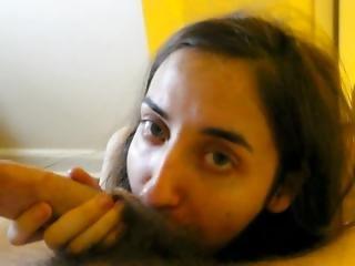 Eighteen Year Old Girlfriend Gets A Nice Facial