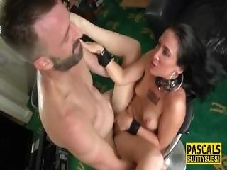Dyke shared gangbang muscle
