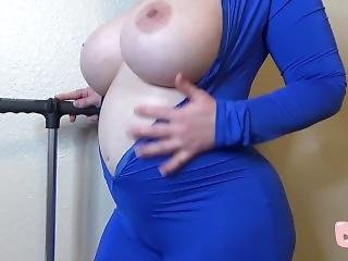 Bike Pump Blue Balloon