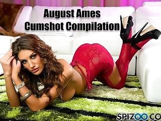 August Ames Cumshot Compilation