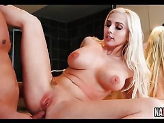 Cute Blonde Big Tits Bathroom Fuck Christie Stevens