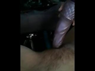 Teen Uses 2 Dildos On Pussy Well Family Is Right Down Stairs