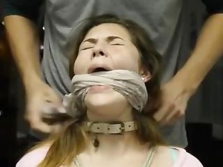 amatorski, kociak, bondage, brunetka, fetysz, zakneblowana