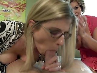 Helping Mommy Get Pregnant Part 2 - Cory Chase And Ivy Secret