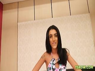 Latina,gangbang,brazilian,tranny,bareback,anal,blowjob,brunette,transsexual,tgirl, Shemale, Shemale Alice Marques - The Gangbang