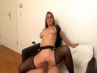 Emy Russo Black Stockings Sex