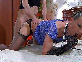 Jack Horatio Cocksuking Crossdresser On Video