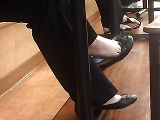 Candid Feet Shoeplay Four Vid Compilation