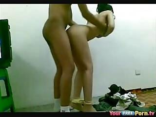 Asian Cutie Lose Her Virginity With Step Brother
