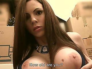 Tiffany Shine Gives Up Her Tight Ass Hole For A Huge Cash