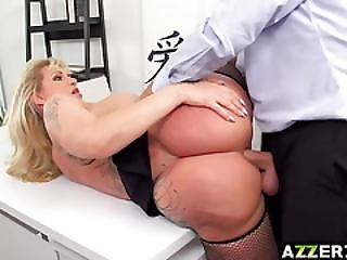 Horny Boss Ryan Gets An Anal Fuck In The Office