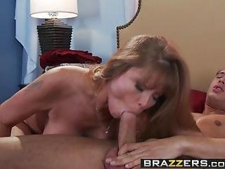 Brazzers  Mommy Got Boobs  Dont Cum On My Sheets Scene Starring Darla Crane  Danny Mountain