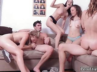 Babe Group Handjob Party Sex Dorm Party