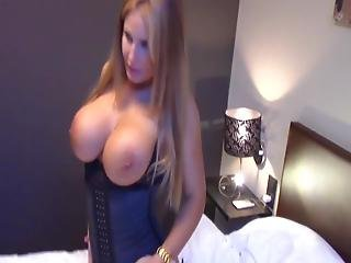 Crazy Milf With Big Boobs Having A Real Orgasm With Neighbor