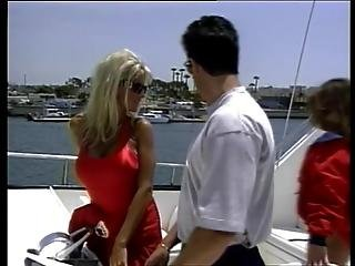 Busty Lifeguard Gets Her Amazing Tits Sucked And Gets Banged On A Boat