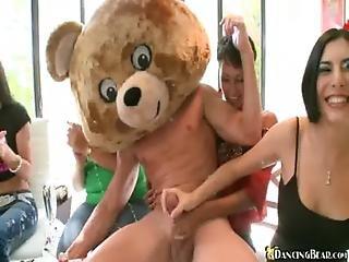 Bear, Blonde, Blowjob, Brunette, Crazy, Dancing, Ebony, Handjob, Latina, Party, Redhead, Stripper, Stripping, Wild