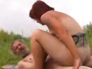 Hairy Homeless Oldman Fucking Horny Girl Cunt