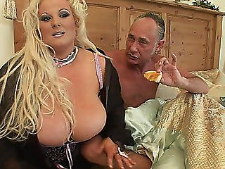 Excited Big Beautiful Woman Humped By Aged Chap