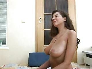 Big Tits New Zealand Babe Handjob