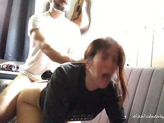 Milf Takes A Hard Ass Fucking For Being Bad Painal