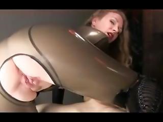 Mistress T Milks Her Slave