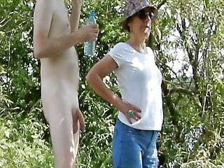 Mature Woman And Naked Guy - Part Ii
