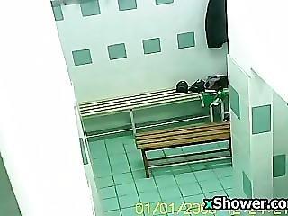 Gym Locker Room Spy Camera