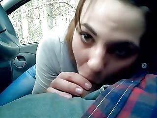 20yr Old Tanya Sucking Dick In Boyfriends Car