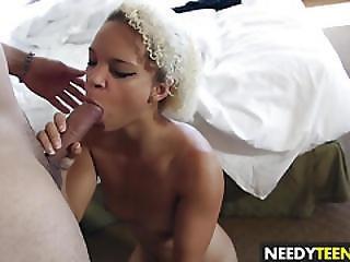 Hot Blonde Teen Ashley Luvbug Gets Dicked