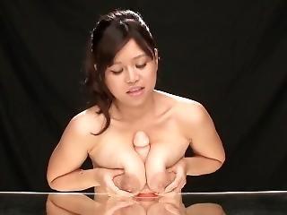 Rumi Yoshizawa Gives Paizuri And Makes A Big Mess With Her Tit Milk
