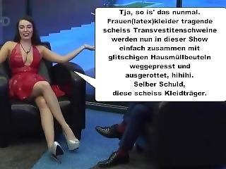velké dudy, německé, latex, panna, party, transvestita