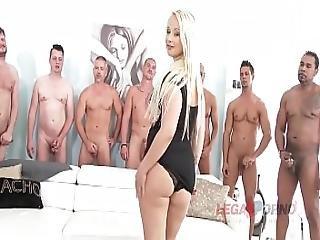 Big Butt Slut Bambi Bella Gets Her Asshole Destroyed During Xxx Gangbang