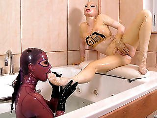 Black Angelica & Latex Lucy
