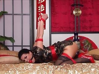Kimono & Strappado In Bed